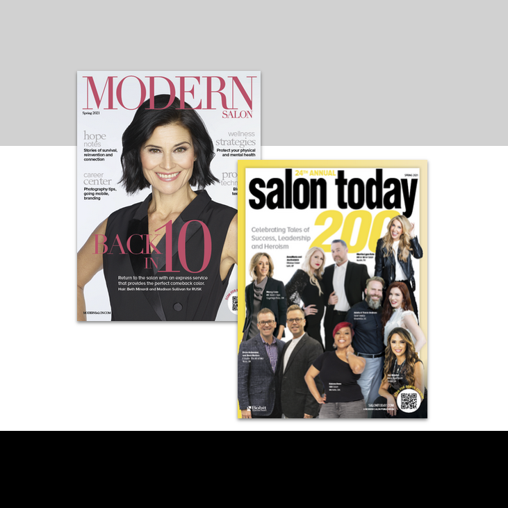 MODERN SALON and SALON TODAY Spring Issue Bonus Content