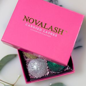 Get in the Holiday Spirit with NovaLash's Candied Lashes