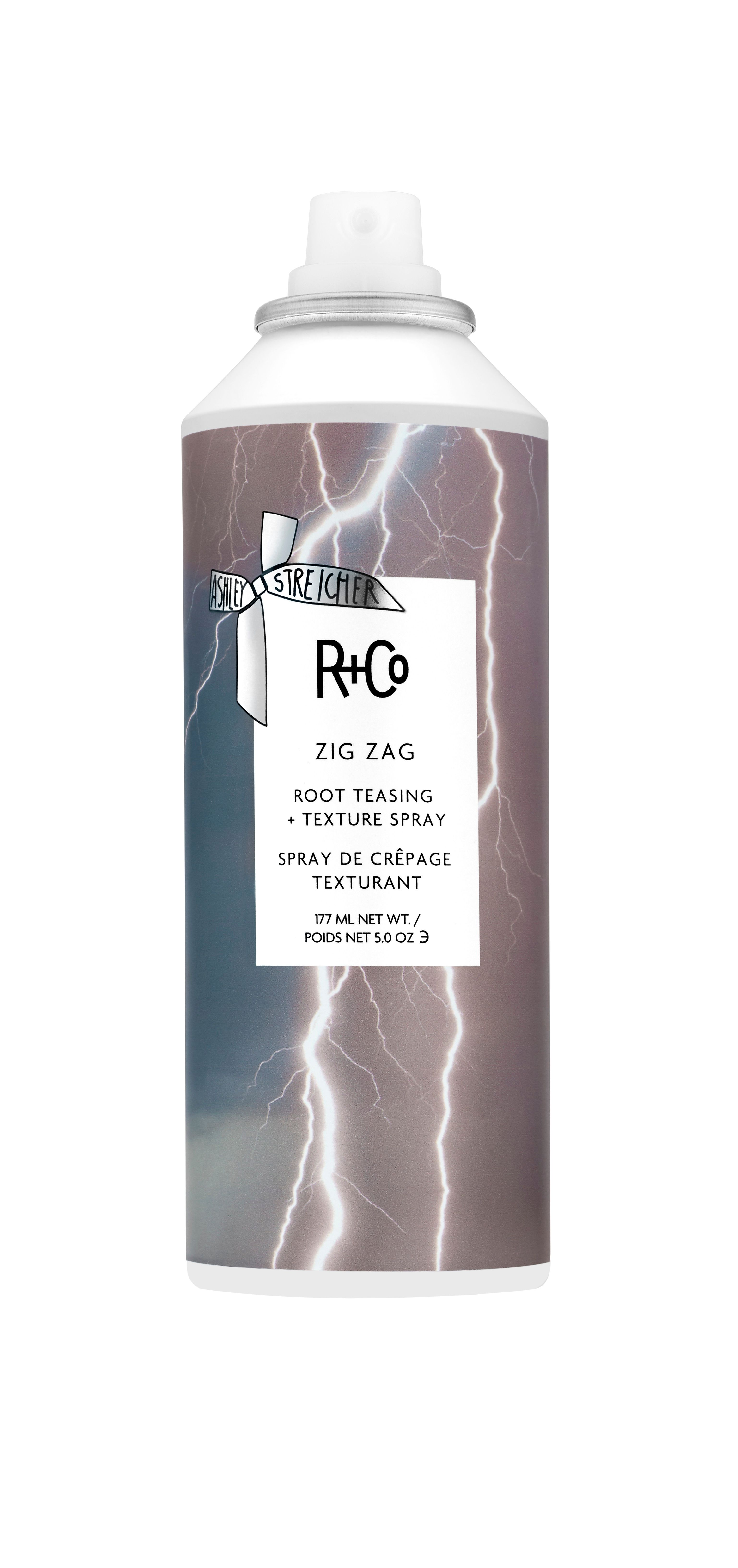 R+Co ZIG ZAG Root Teasing and Texture Spray