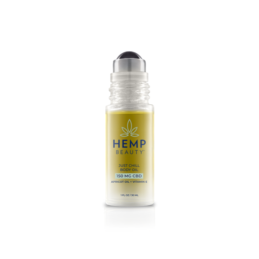 HempBeauty's Just Chill Body Oil