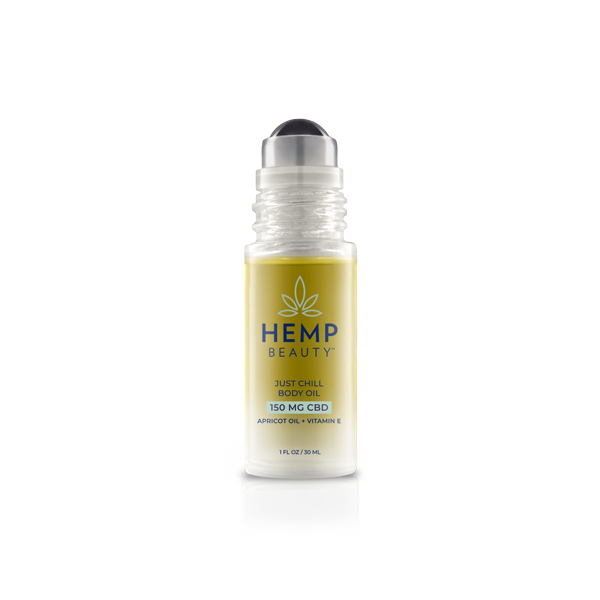 HempBeauty's CBD-Enhanced Just Chill Body Oil