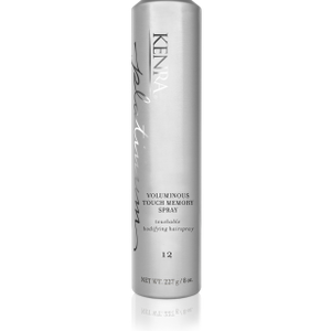 the NEW Kenra Platinum Voluminous Touch Memory Spray 12