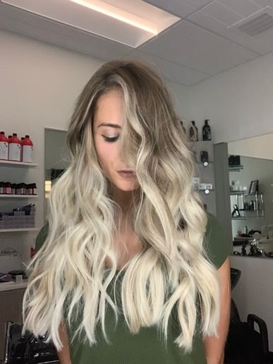 Hair color by Grayson Troy
