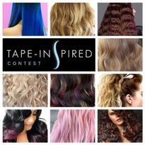 Vote for the Best Tape-in Hair Creation!