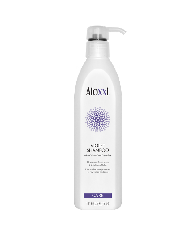 <p><strong>A purple shampoo like Aloxxi Violet Shampoo is for more than at-home care. You can also use it as a quick toner in the salon when doing corrective color services.</strong></p>