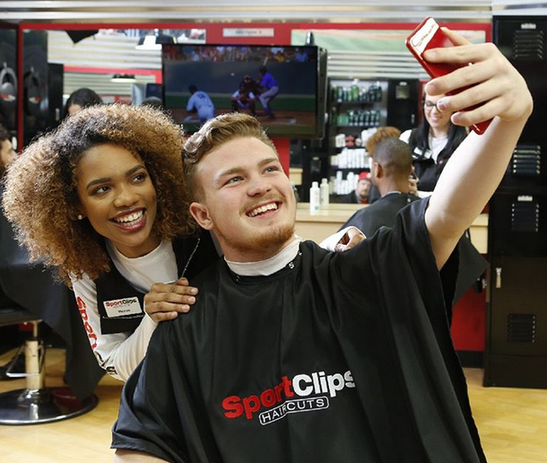 Photo courtesy of Sport Clips