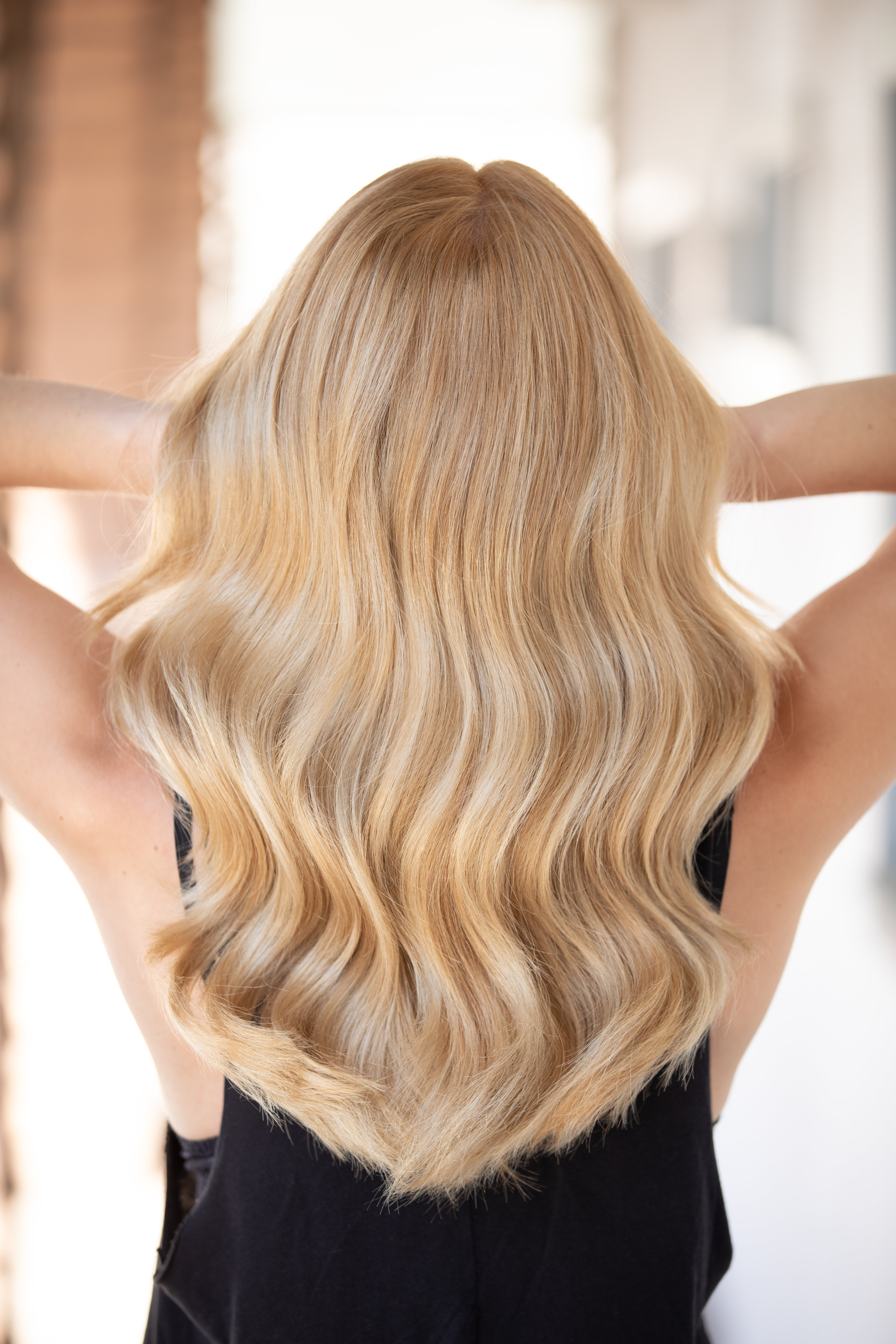 <p><strong>Dazzle your clients with this nuanced, &ldquo;expensive-looking&rdquo; blonde shade. Hair by Kenra Professional National Artistic Manager Oliver Shortall @oliver_shortall.</strong></p>