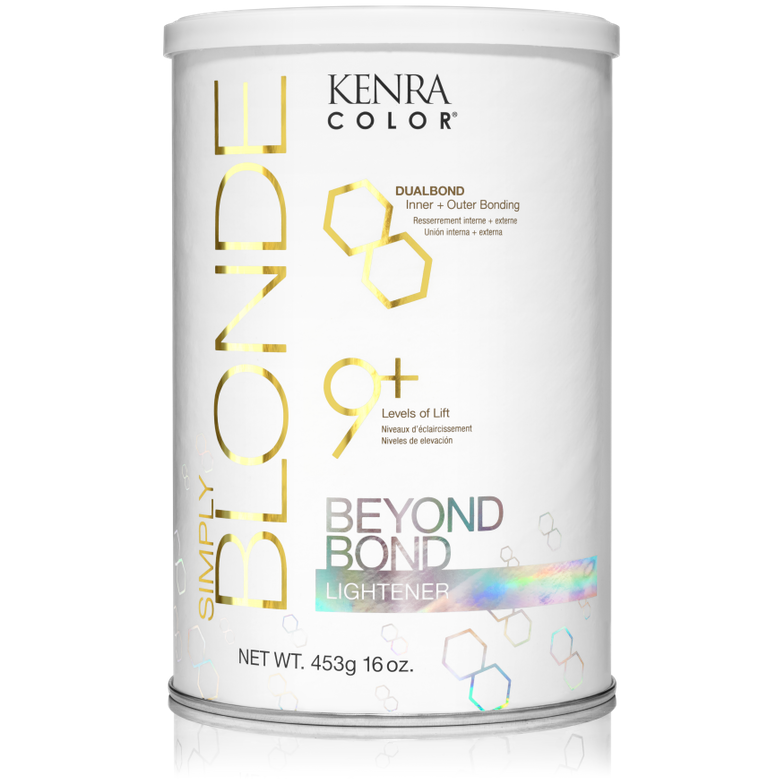 <p><strong>What&rsquo;s better than adding a bonding formula to your lightener? You could be using a lightener like Kenra Color Simply Blonde Beyond Bond Lightener, which contains a complex to repair and strengthen the inner and outer cuticle while lifting up to nine levels.</strong></p>