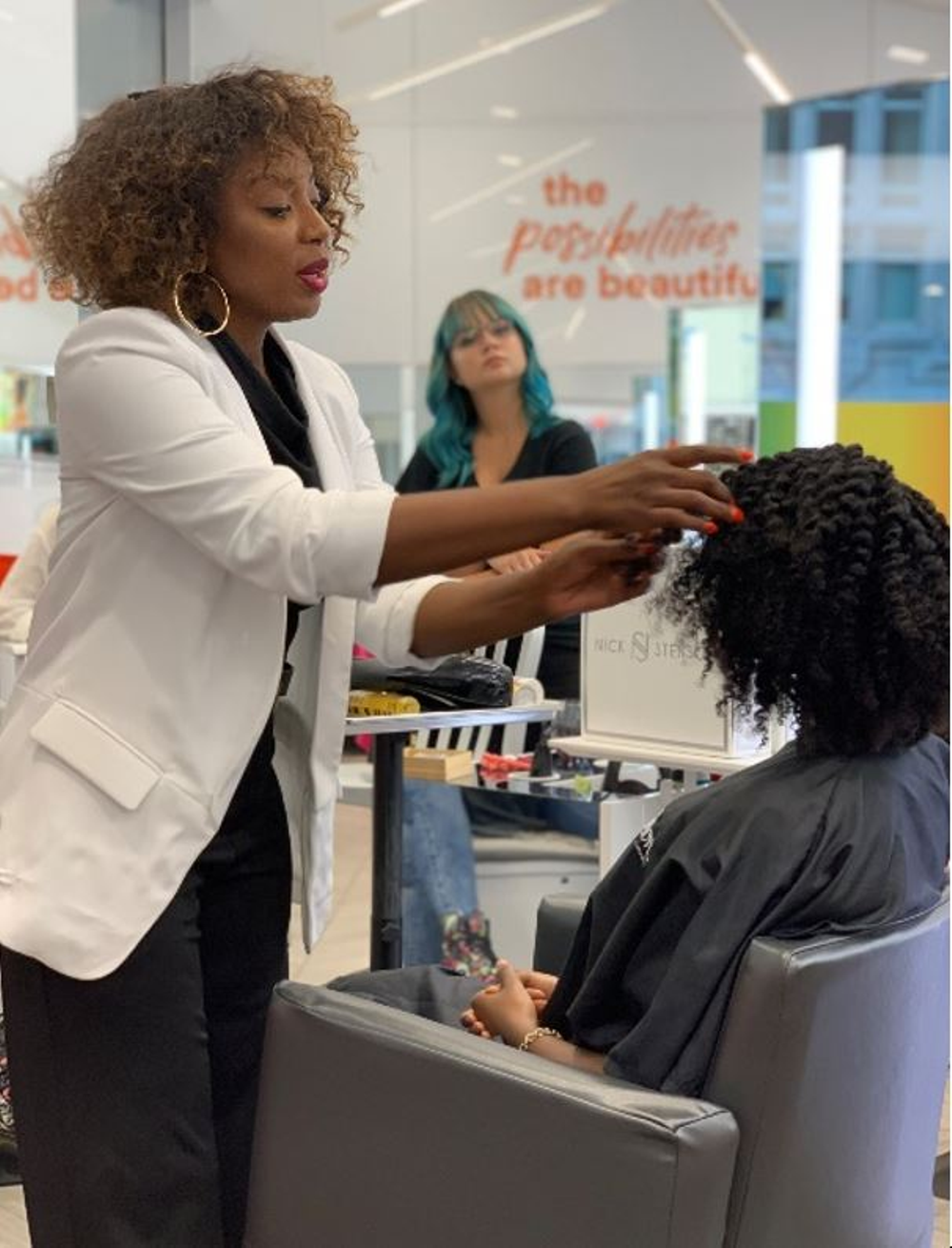 <p><strong>Whether you&rsquo;re just beginning your curly journey, or you&rsquo;re experienced with all types of textures, the flat twist is a go-to texture for every client says ULTA Beauty Pro Team Member Pekela Riley.</strong></p>