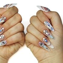 NTNA S. 7 Pre-Challenge 2: 3-D French Nail Art (Christy)