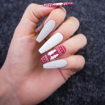 Cozy Sweater Nail Art Tutorial