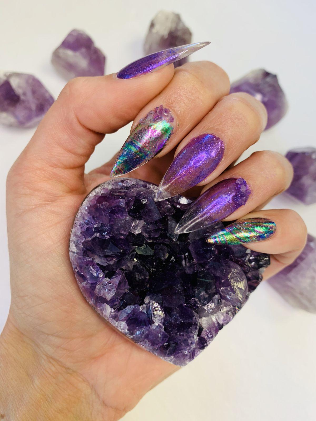 Add Genuine Crystal Gemstones to Nail Art