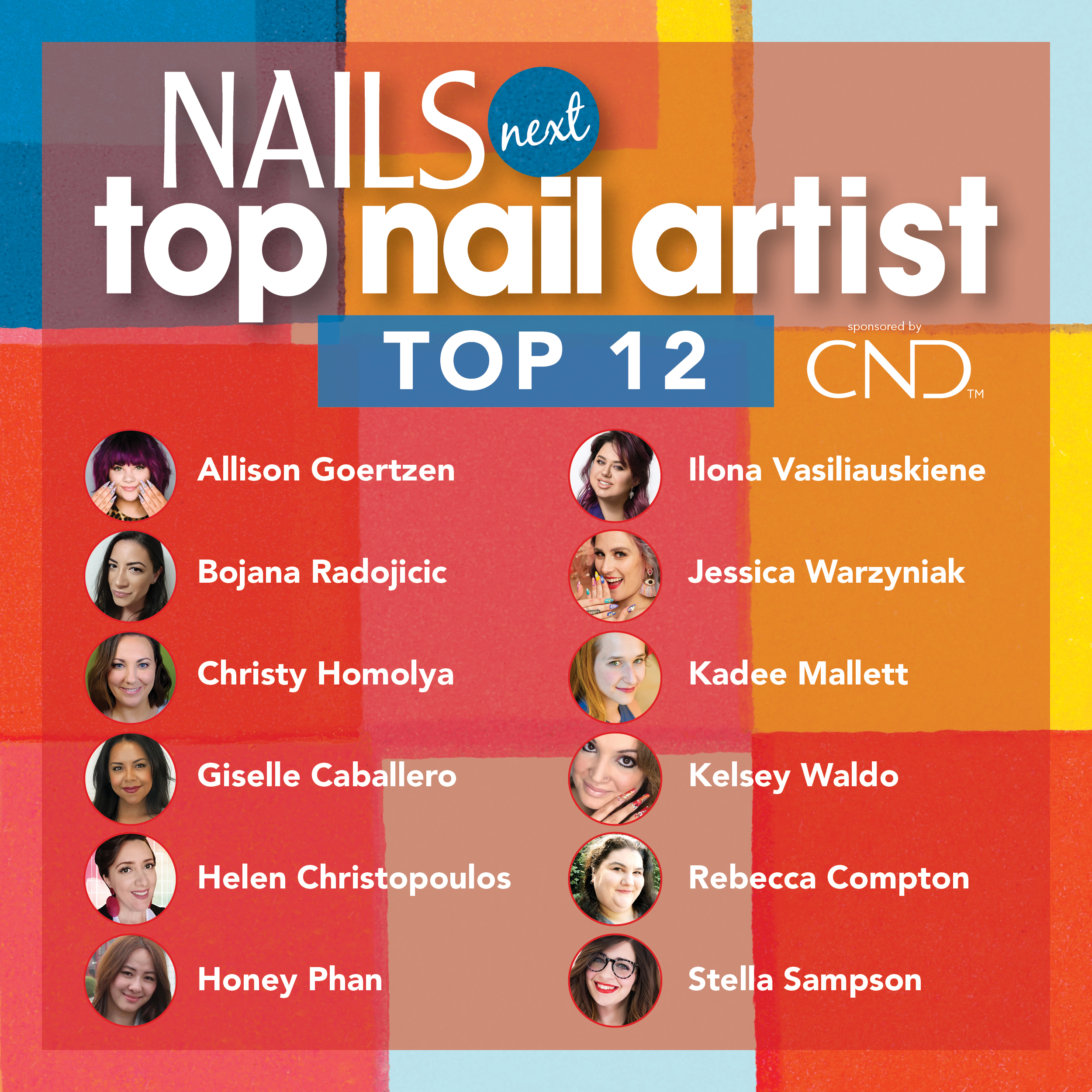 NAILS Names Top 12 for NTNA S. 7