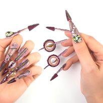 NTNA S. 7 Pre-Challenge 2: Gyroscope Nail Art (Stella)