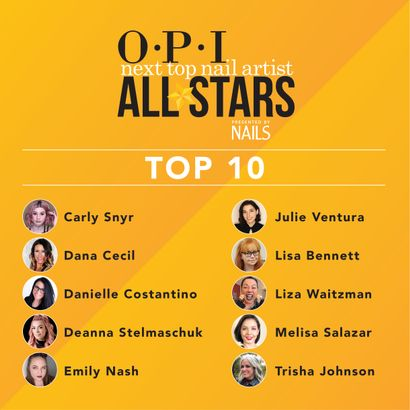 NAILS Announces Top 10 for OPI NTNA All Stars