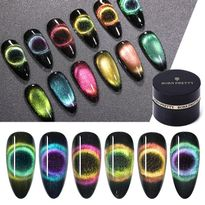 Try Born Pretty's 9-D Magnetic Cat Eye Gel-Polish for Vivid Designs