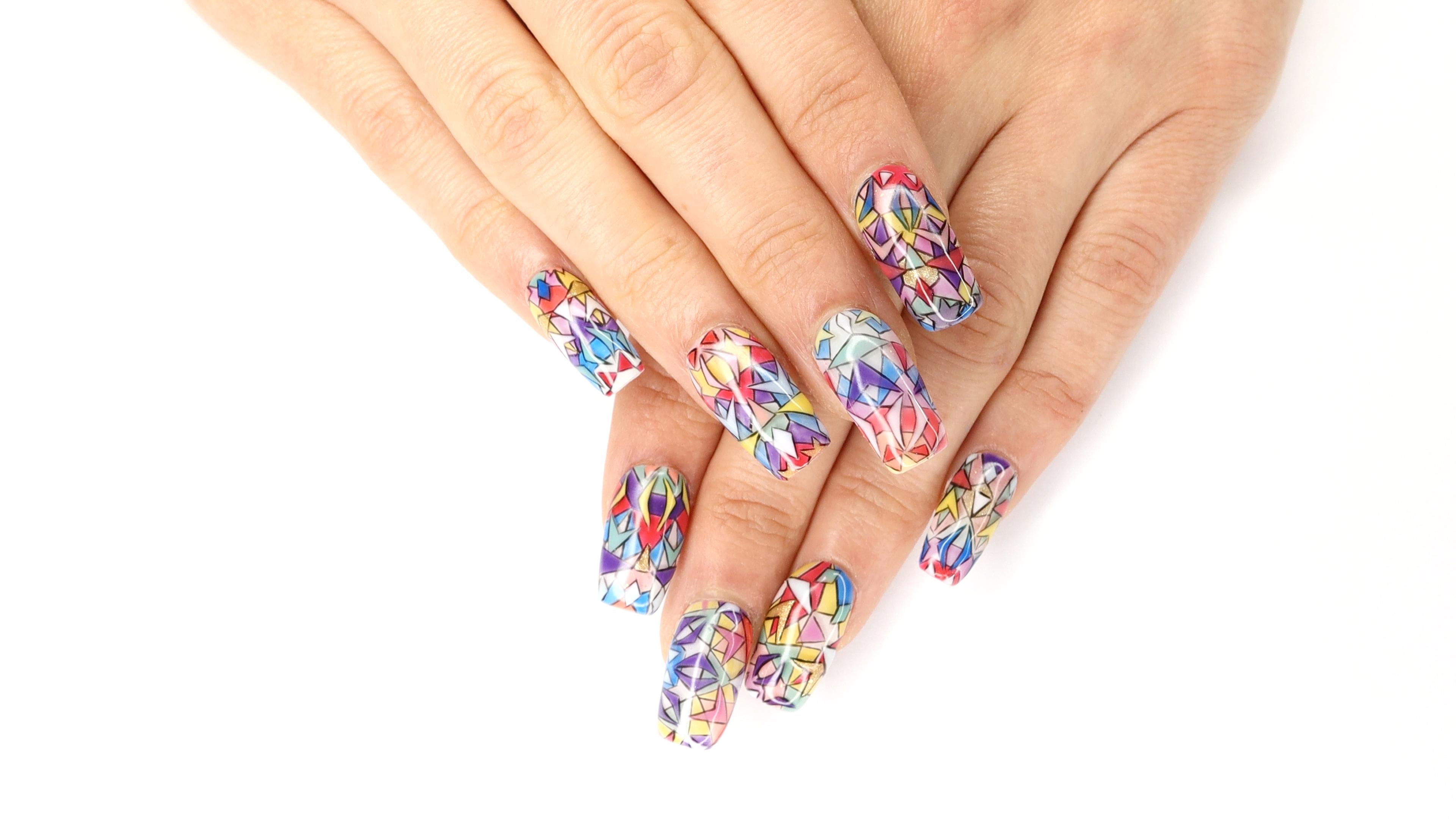 OPI NTNA Challenge 3: Kaleidoscope Nail Art (Julie)