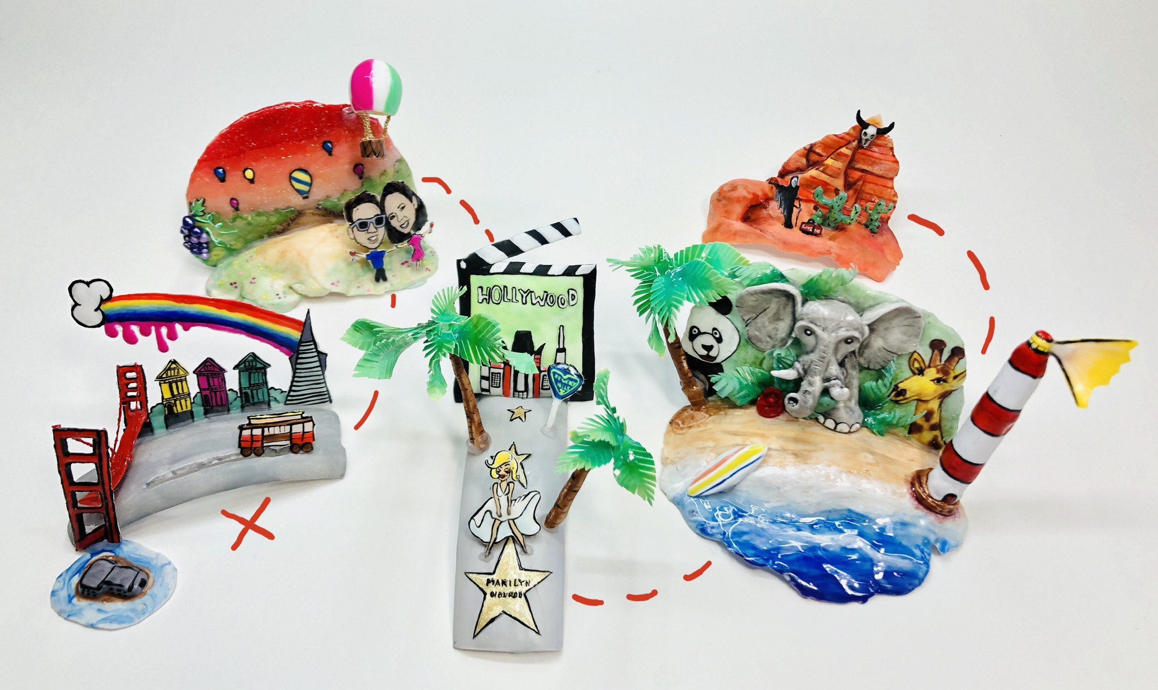 OPI NTNA Challenge 2: California Dreaming (Melisa)