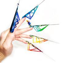 OPI NTNA Challenge 4: Avant Garde Triangle Nail Art (Melisa)