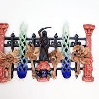 NTNA S. 7 Challenge 1: Bone Garden Nail Art (Becca)