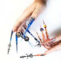 NTNA S. 7 Challenge 2: Balance and Harmony Nail Art (Ilona)