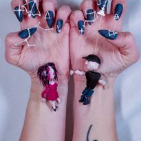 NTNA S. 7 Challenge 2: Puppeteer Nail Art (Jessica)
