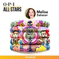 Melisa Salazar Named First OPI NTNA All Star Winner