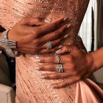 Celebrity Manis Shine Brightly at the 2020 Academy Awards