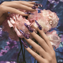 Nail Art for Swarovski SS 2021 Trend Inspiration