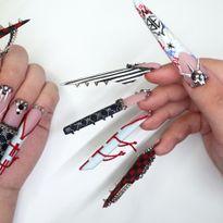 NTNA S. 7 Challenge 6: Billie Eilish Nail Art (Ally)