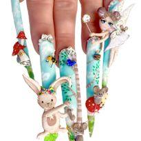 NTNA S. 7 Challenge 5: Little Bunny Foo Foo Nail Art (April)