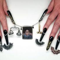 NTNA S. 7 Challenge 6: RBG Nail Art (Becca)