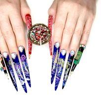 NTNA S. 7 Challenge 4: Roulette Nail Art (Becca)