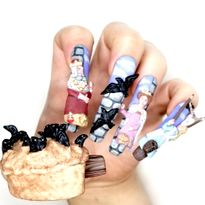 NTNA S. 7 Challenge 5: Sing a Song of Sixpence Nail Art (Becca)
