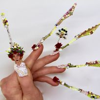 NTNA S.7 Challenge 8: Roman Mythology Nail Art (Kadee)