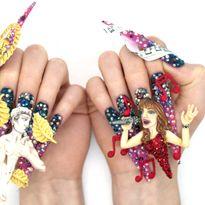 NTNA S. 7 Challenge 4: Reba Nail Art (Kadee)
