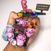 NTNA S. 7 Challenge 5: This Little Piggy Nail Art (Kelsey)