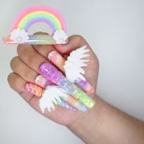 NTNA S.7 Challenge 9: Magical Nail Art (Ally)