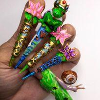 NTNA S.7 Challenge 9: Frog Prince Nail Art (Kelsey)