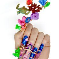 NTNA S.7 Challenge 9: Mermaid Nail Art (Kadee)