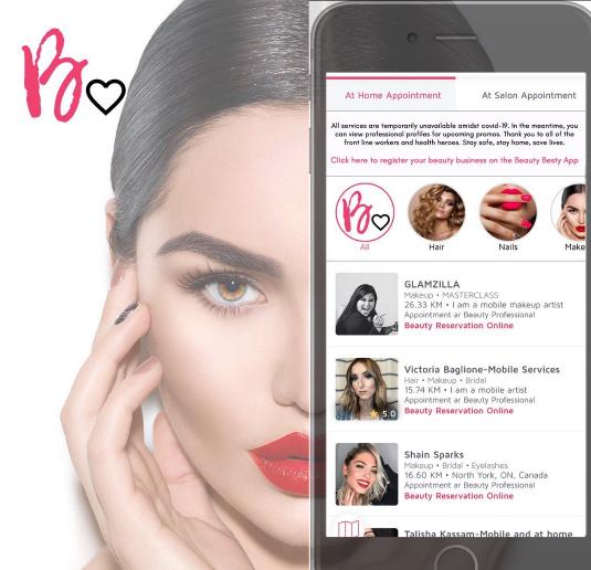Beauty Besty App Can Help Canadian