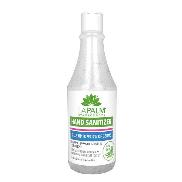 """<p><a href=""""https://buygeltwo.com/product/la-palm-hand-sanitizer-3-3oz-20-pack/"""">La Palm</a></p>"""