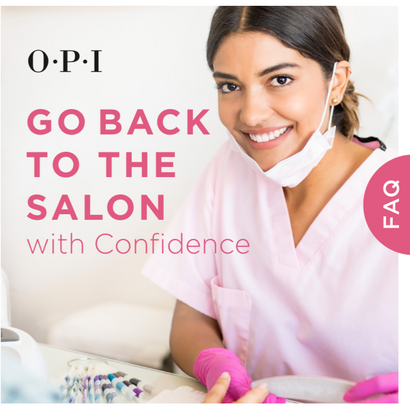 Salon Reopening Resources From OPI