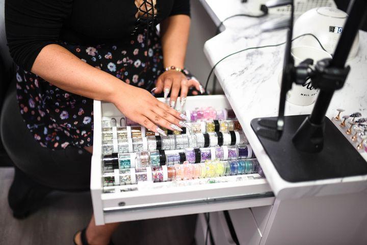 Ally's nail station  -
