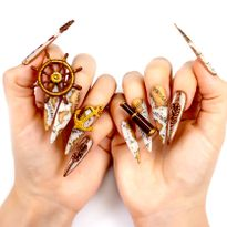 Five Nail Designs by NTNA Finalist Stella Sampson