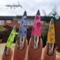 VIDEO HOW-TO: Lava Lamp Nails