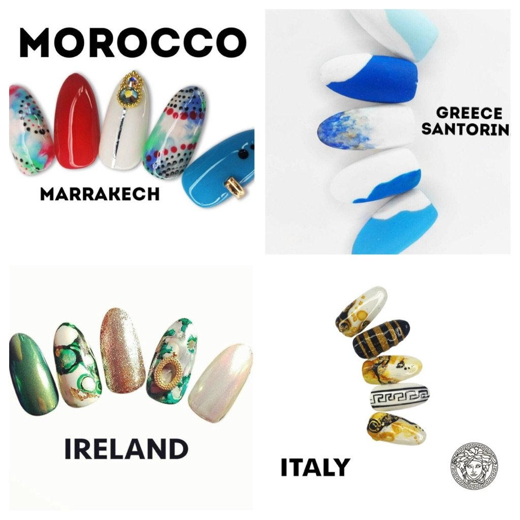 Passport Nails: Artist Designs Nail Art to Scratch That Travel Itch