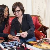 Actress, producer, director and activist Kerry Washington (left) collaborates with OPI...