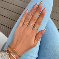 TRENDING: Unexpected French Manicures