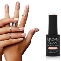 Pastel Gel Polishes for Summer from Madam Glam